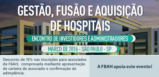 Gestão Fusão e Aquisição de Hospitais